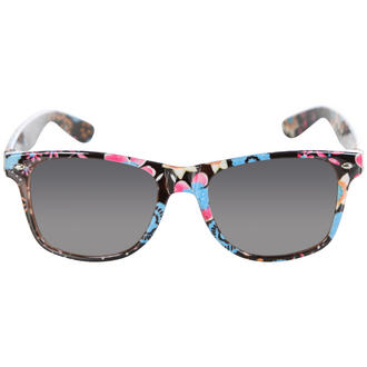 View Item Blue Floral Wayfarer Sunglasses